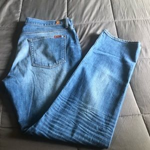 Men's 7 for all mankind slimmy jeans size 36